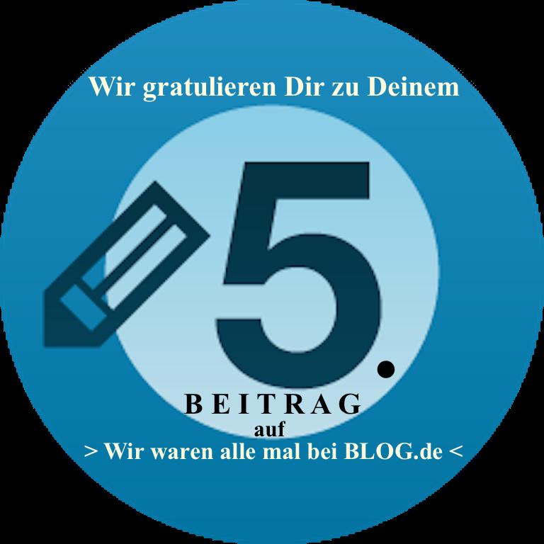 PachTs wordpress 21 Gratulation zum 5. Beitrag bei_Wir waren alle mal bei_ 24.11.17