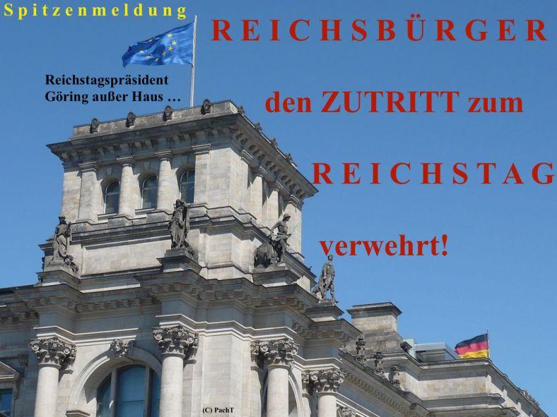Reichstag kontra Reichsbürger