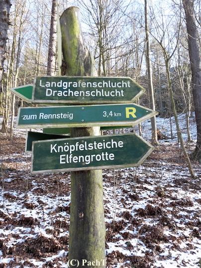 Eisenach 32 Mariental 2018.02.13 2 Wegweisung