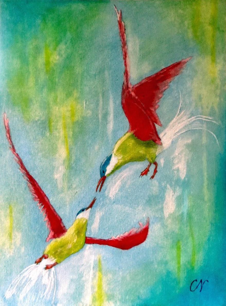 Bild_Kleine paradiesische Vögeleii_Christel Noack
