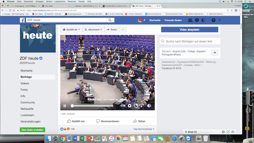 Bundestag PlenarSaal Debatte 2018-03-23