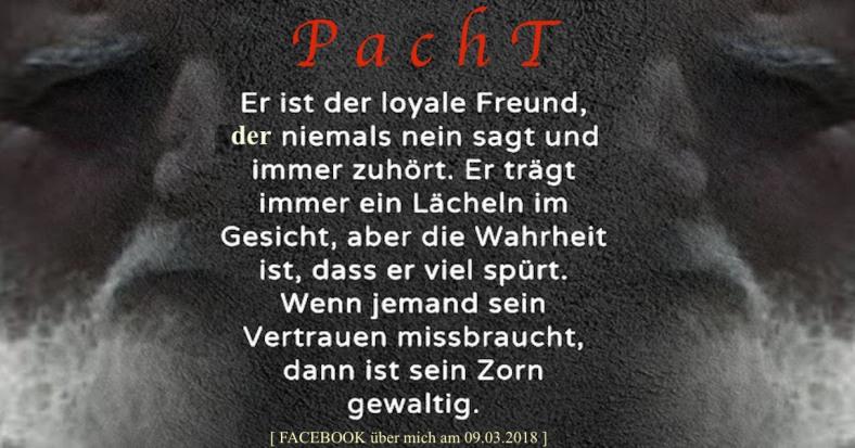 PachT Facebook über mich 2018.03.09 Er ist loyal