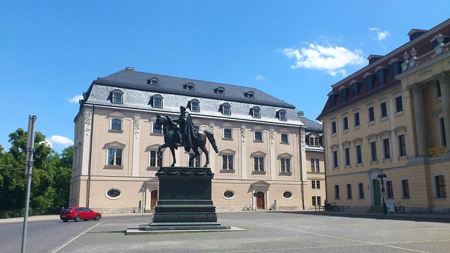 Weimar Anna-Amalia-Bibliothek 01 u. Carl August