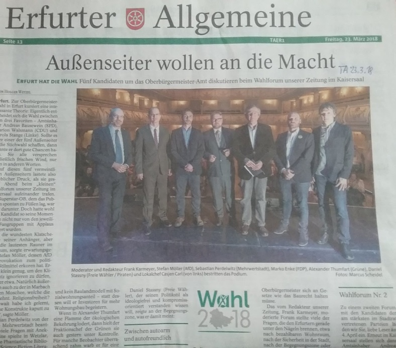 007 OB - WAHLEN in EF Forum 1 PresseFazit