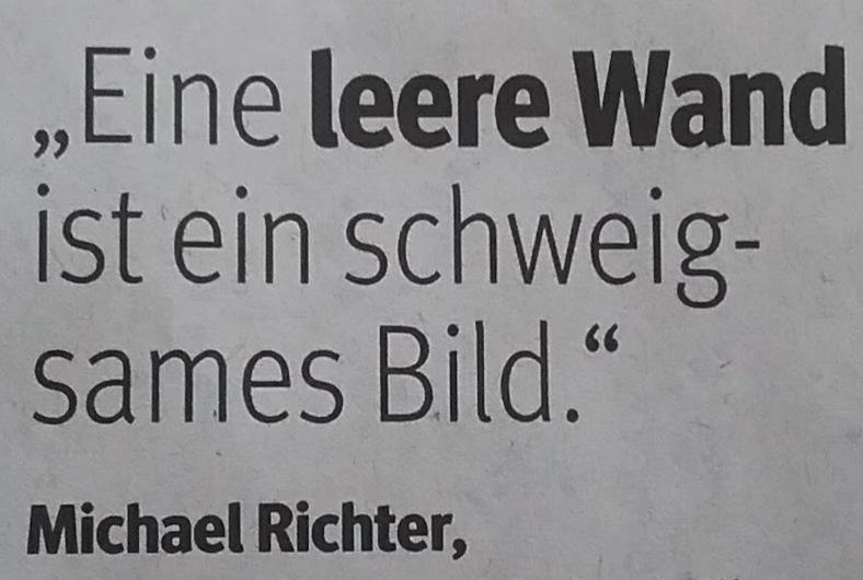 Zitat Wand