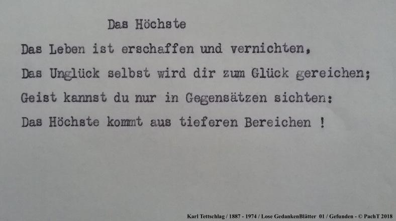 1887 - 1974 Erinnerung an meinen Opa _ Lose GedankenBlätter 01