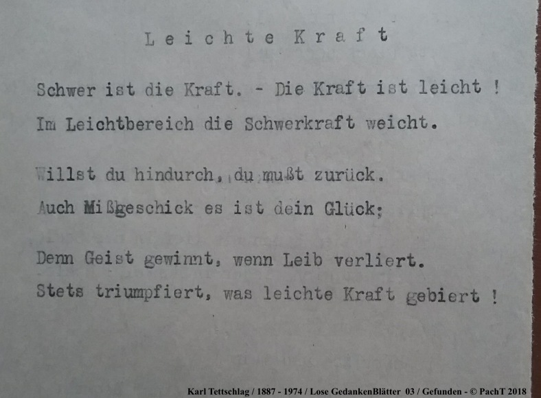 1887 - 1974 Erinnerung an meinen Opa _ Lose GedankenBlätter 03
