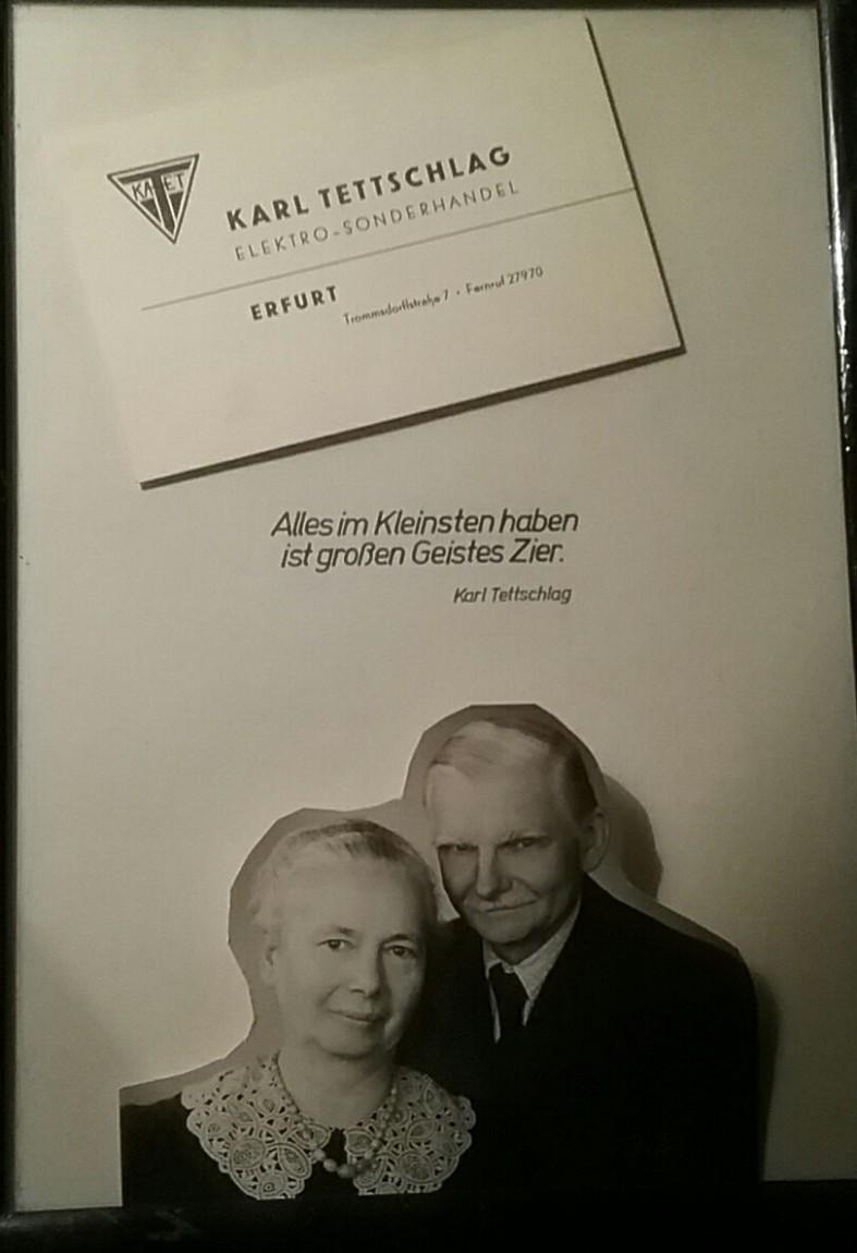 1887 - 1974 Erinnerung an meinen Opa KARL_Kaufmann u. Denker