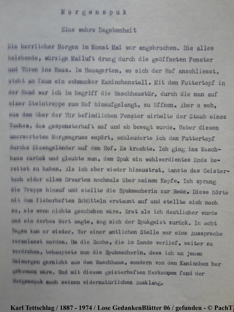 1887 - 1974 Erinnerungen an meinen Opa _ Lose GedankenBlätter 06