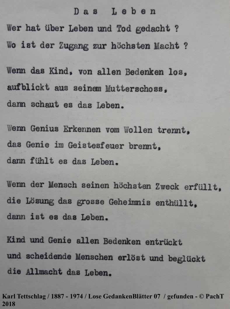 1887 - 1974 Erinnerungen an meinen Opa _ Lose GedankenBlätter 07