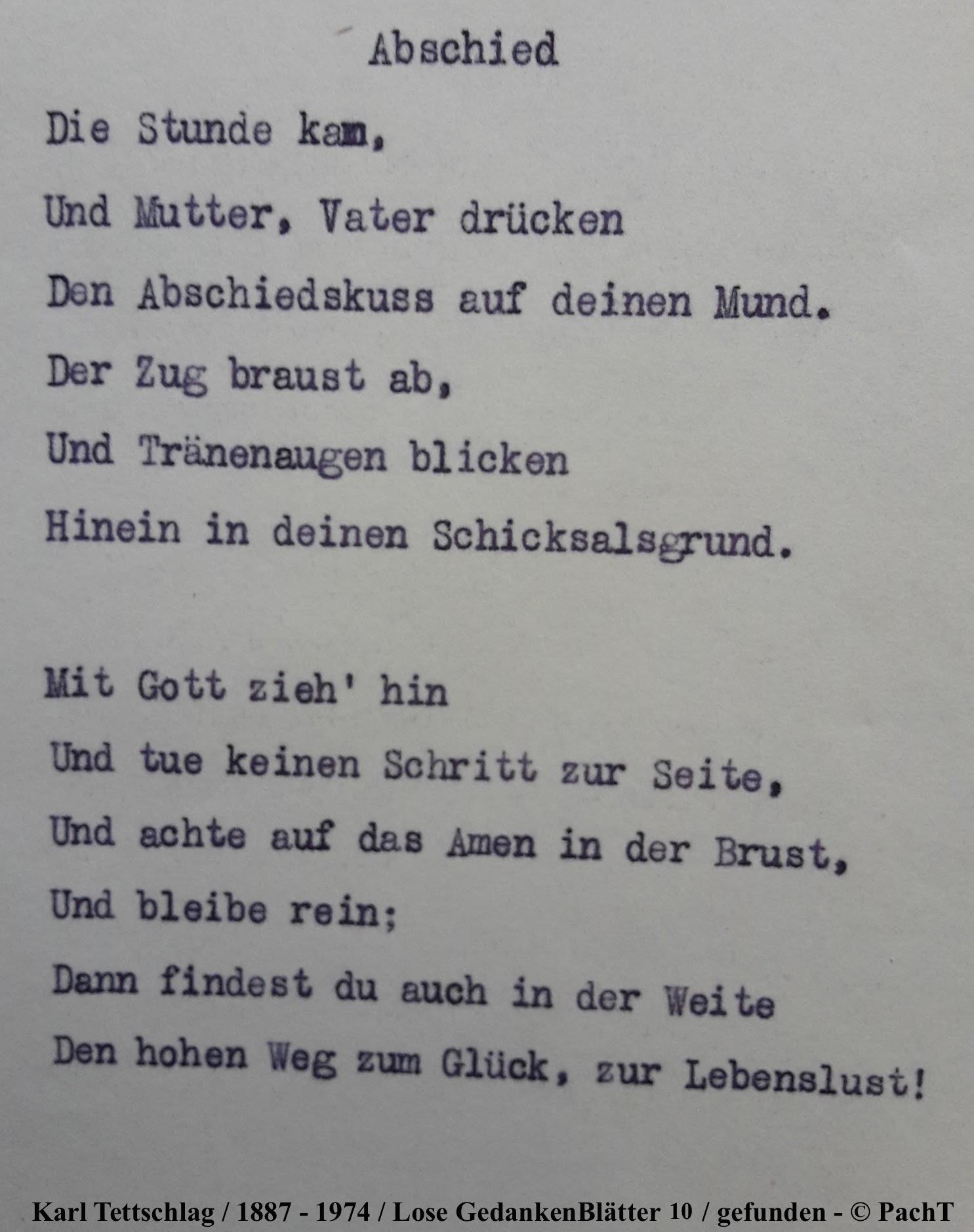 1887 - 1974 Erinnerungen an meinen Opa _ Lose GedankenBlätter 10