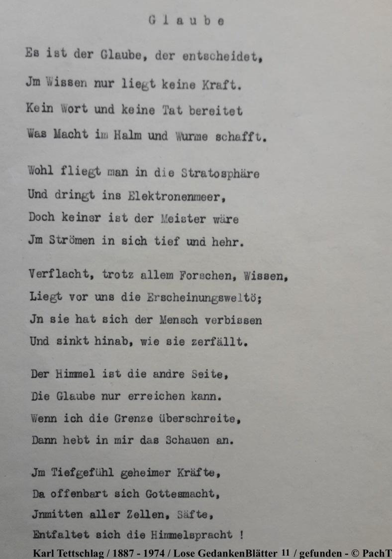1887 - 1974 Erinnerungen an meinen Opa _ Lose GedankenBlätter 11