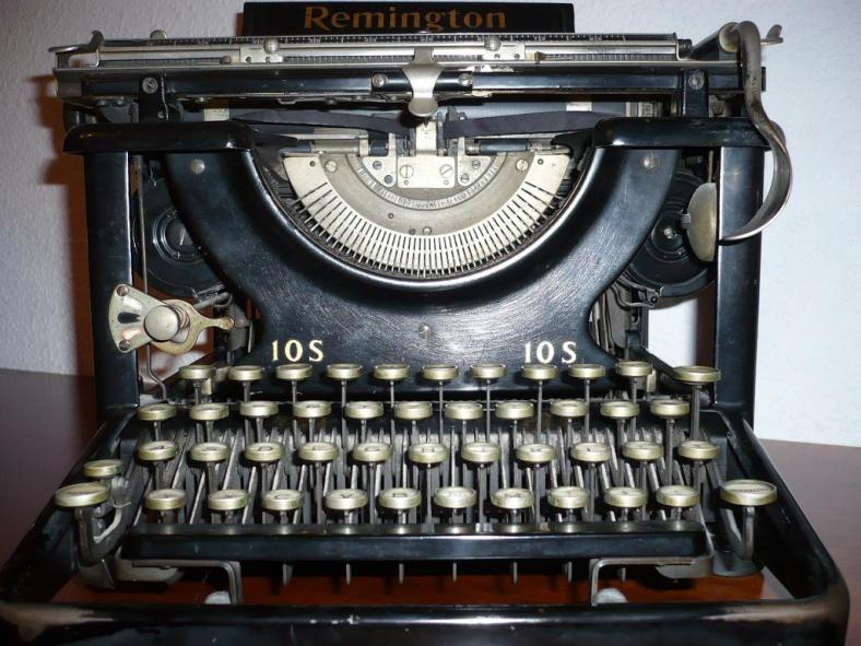Schreibmaschine - Mein früheres Schreiblaborgerät