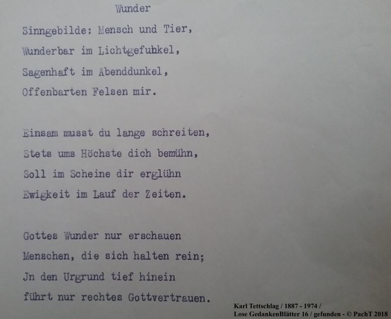 1887 - 1974 Erinnerungen an meinen Opa _ Lose GedankenBlätter 16