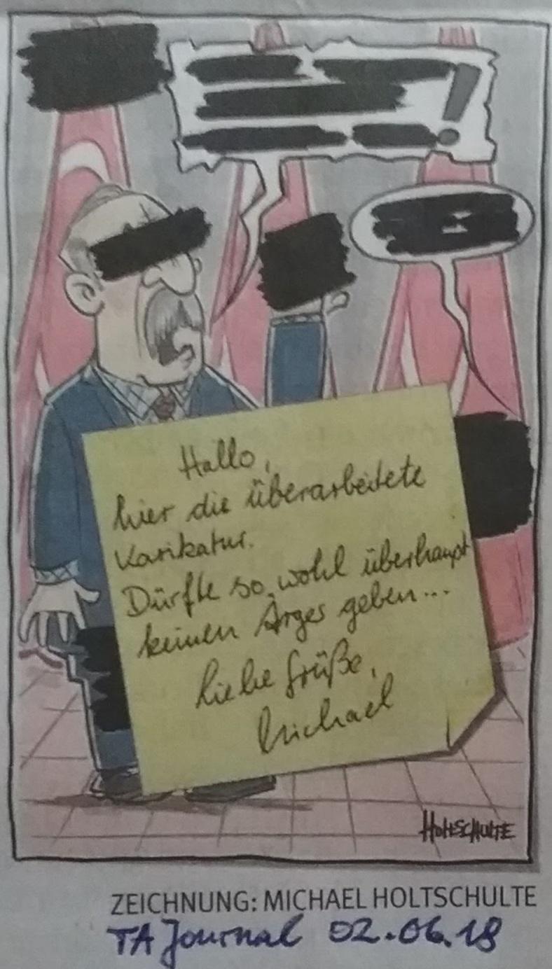 Karikatur KarikativeMeinungsFreiheit
