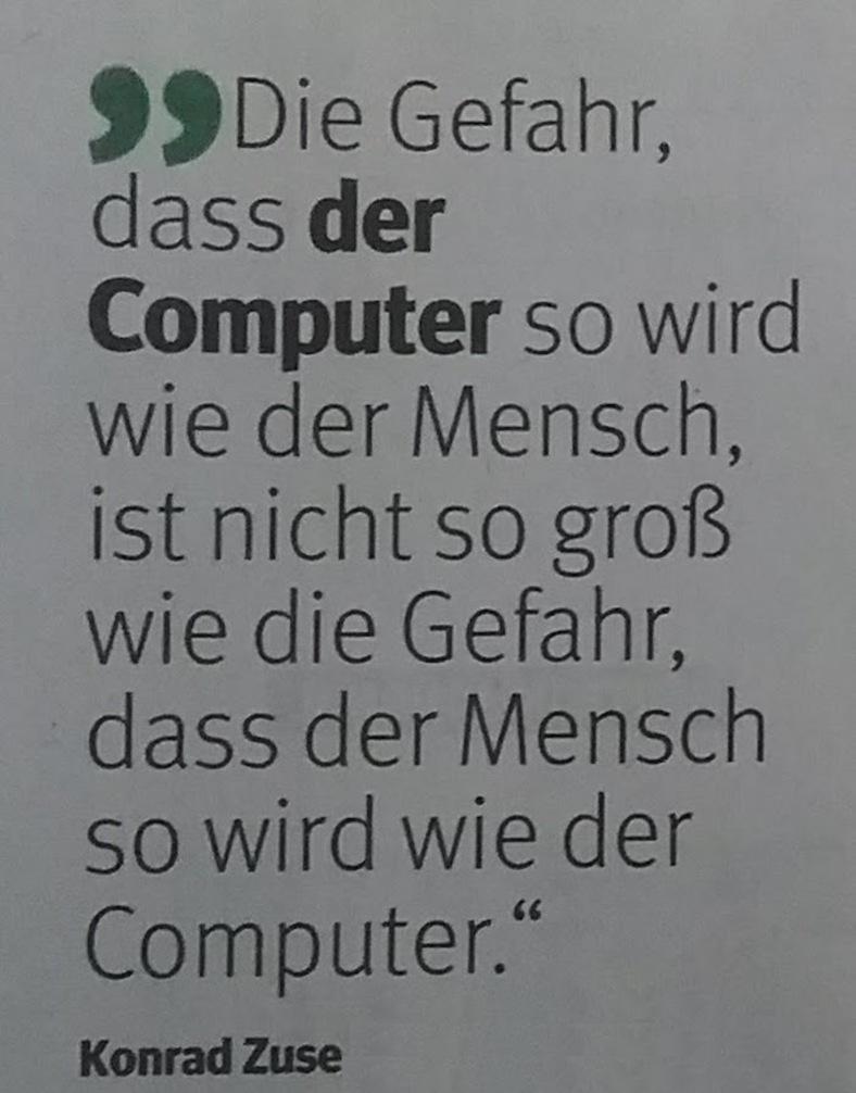 Zitat Computer