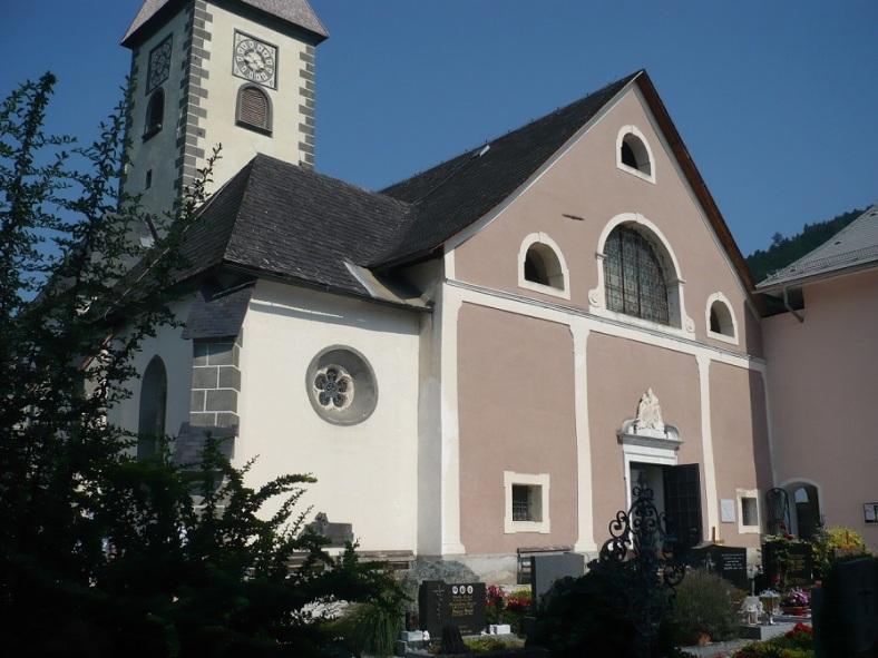 162 OSSIACH a. See STIFTSKIRCHE Friedhof