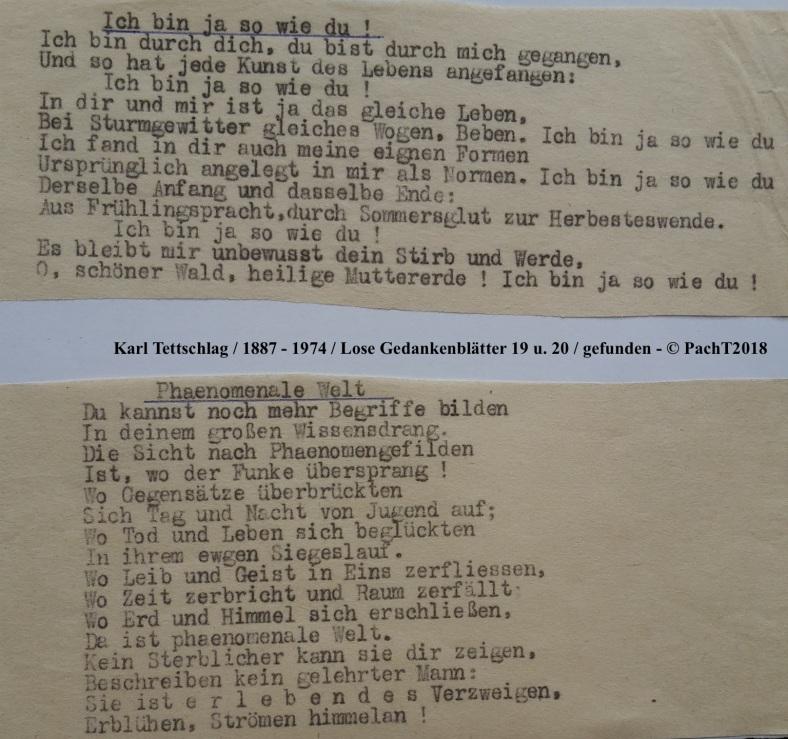 1887 - 1974 Erinnerungen an meinen Opa _ Lose GedankenBlätter 19_20