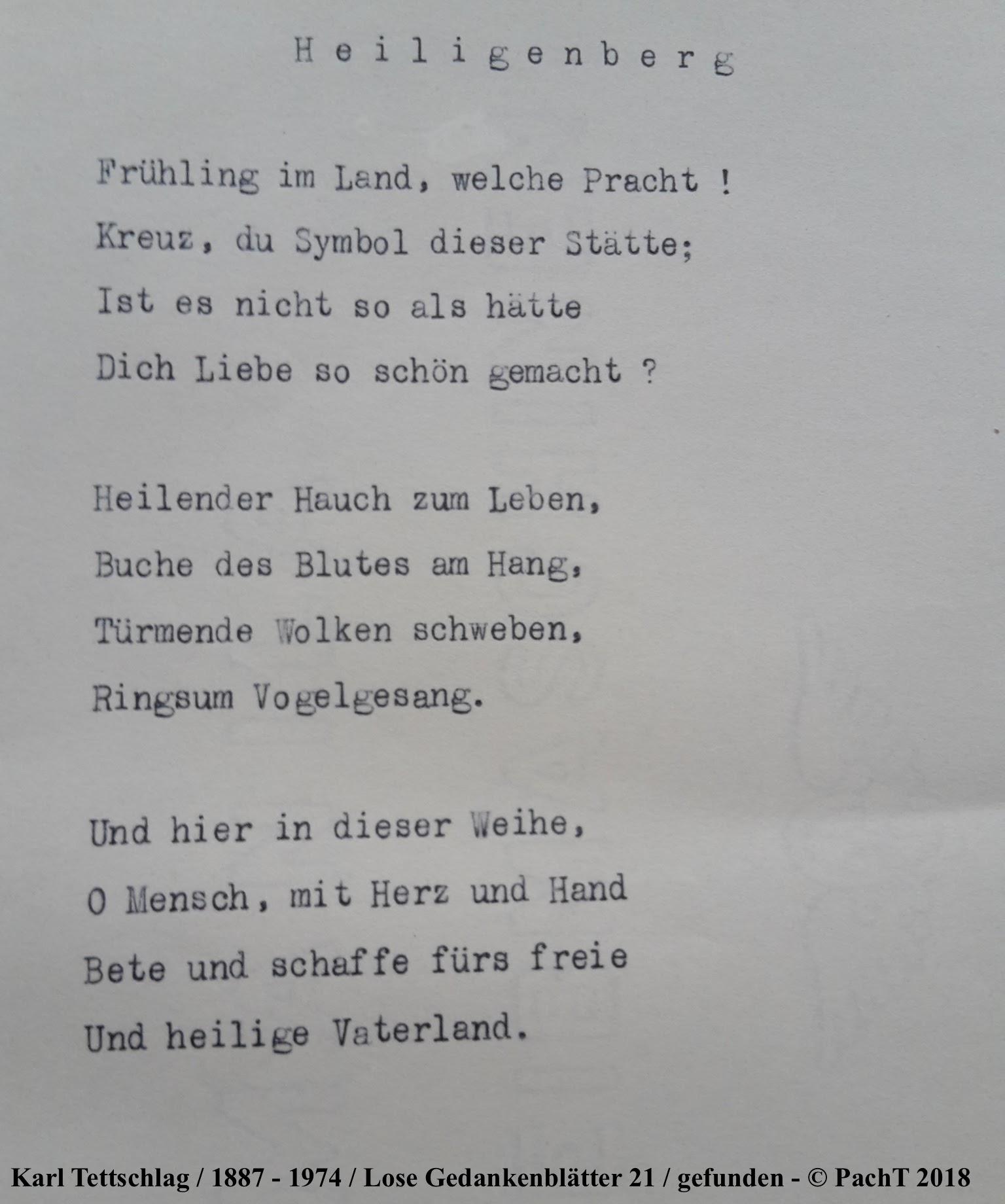 1887 - 1974 Erinnerungen an meinen Opa _ Lose GedankenBlätter 21