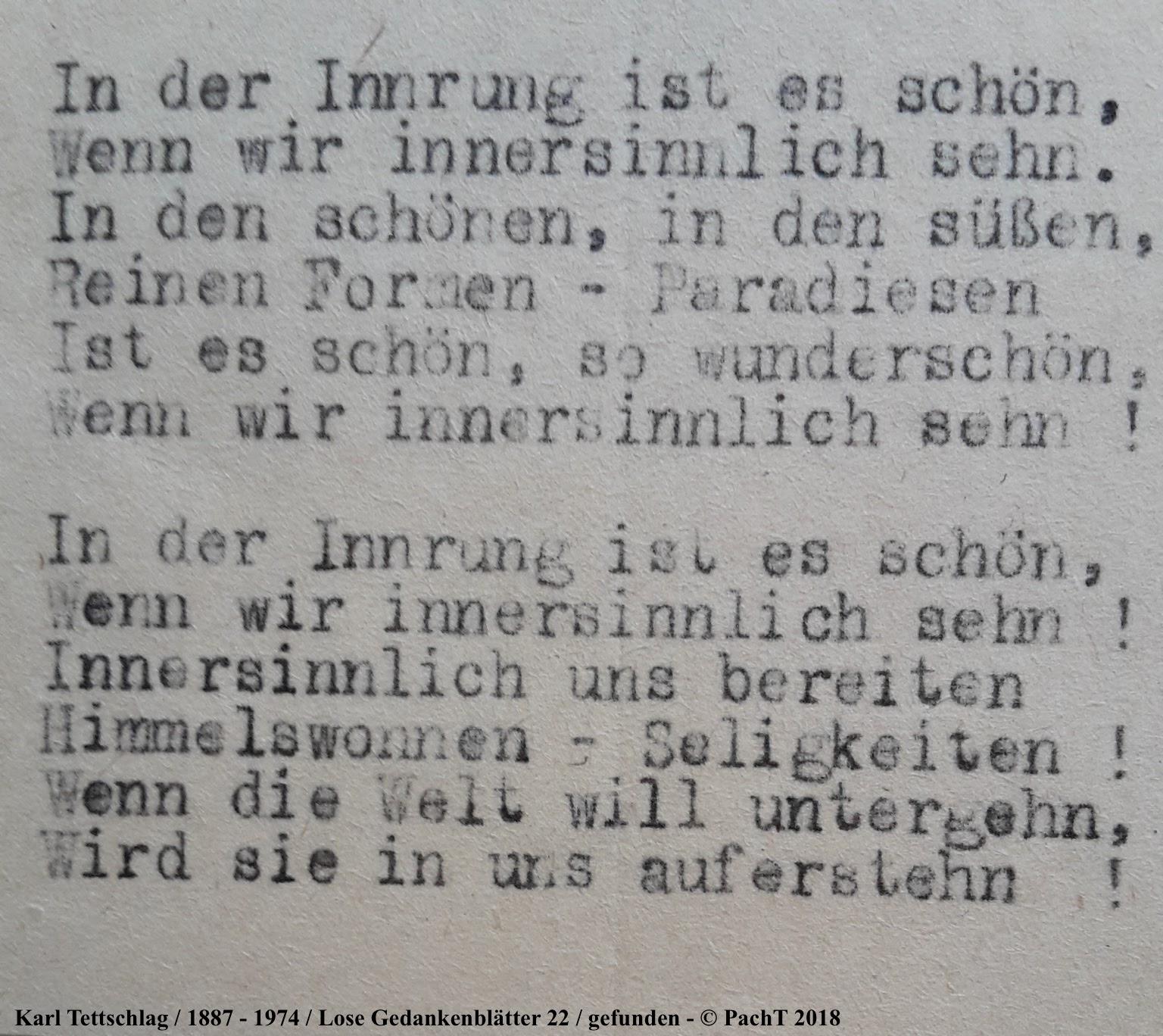 1887 - 1974 Erinnerungen an meinen Opa _ Lose GedankenBlätter 22