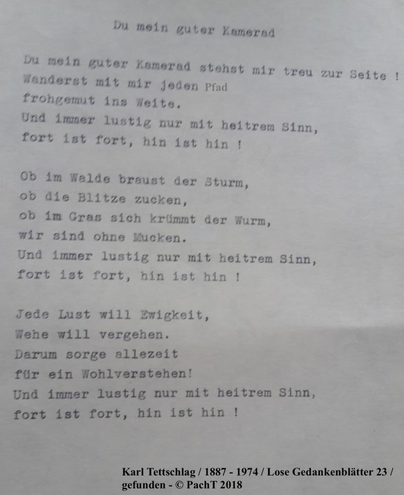 1887 - 1974 Erinnerungen an meinen Opa _ Lose GedankenBlätter 23