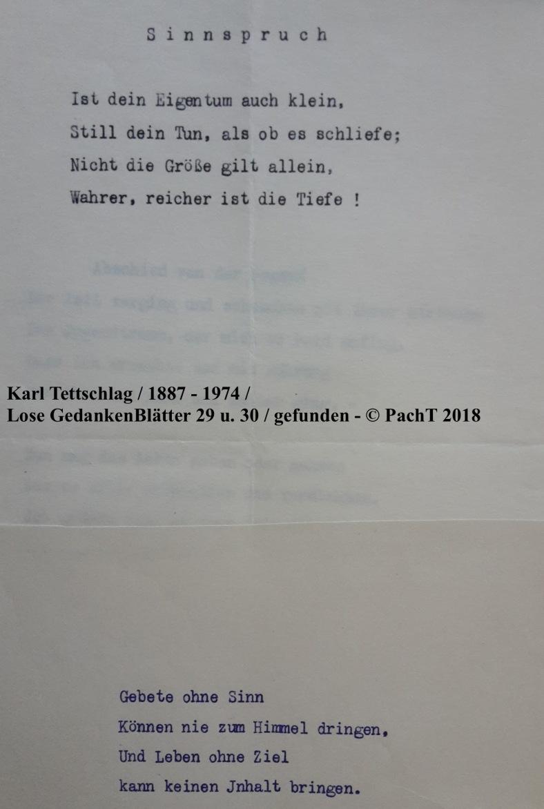 1887 - 1974 Erinnerungen an meinen Opa _ Lose GedankenBlätter 29_30