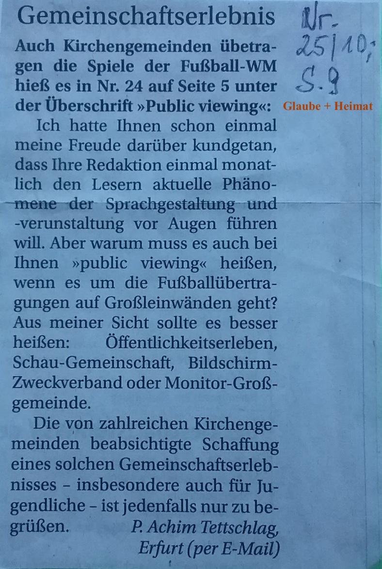 GuH_LESERMEINUNG 2010.06.10 Deutsche Sprache _ Blog 01.07.18