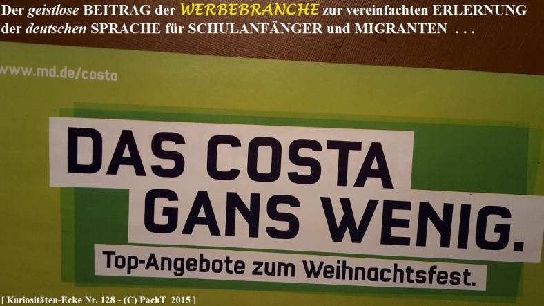 KURIOS 128 Sprach-Pfusch