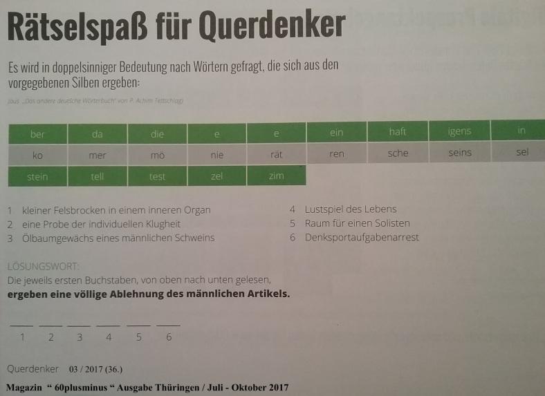 QuerDenkerRätsel 36 03_17