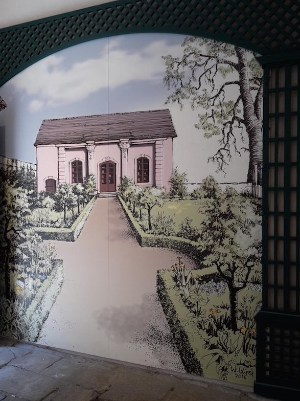 Weimar Kirms-Krackow-Haus 10 Wandgemälde Garten