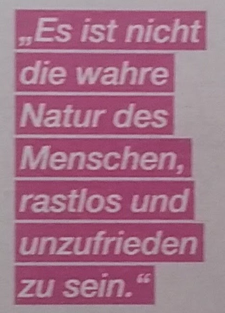 Zitat Natur des Menschen