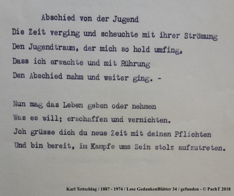1887 - 1974 Erinnerungen an meinen Opa _ Lose GedankenBlätter 34