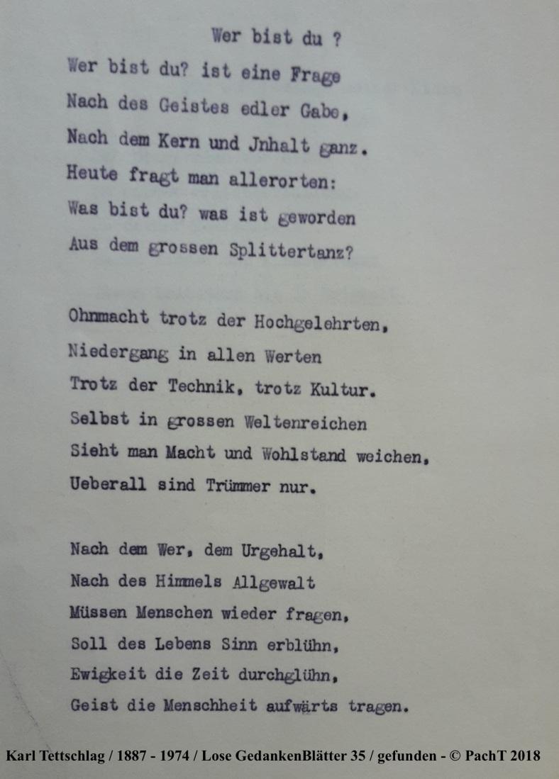 1887 - 1974 Erinnerungen an meinen Opa _ Lose GedankenBlätter 35