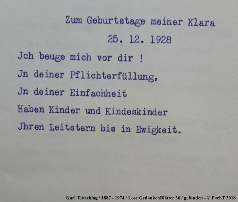 1887 - 1974 Erinnerungen an meinen Opa _ Lose GedankenBlätter 36