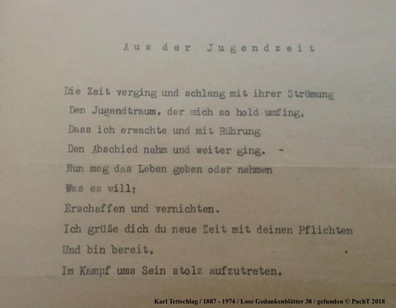 1887 - 1974 Erinnerungen an meinen Opa _ Lose GedankenBlätter 38