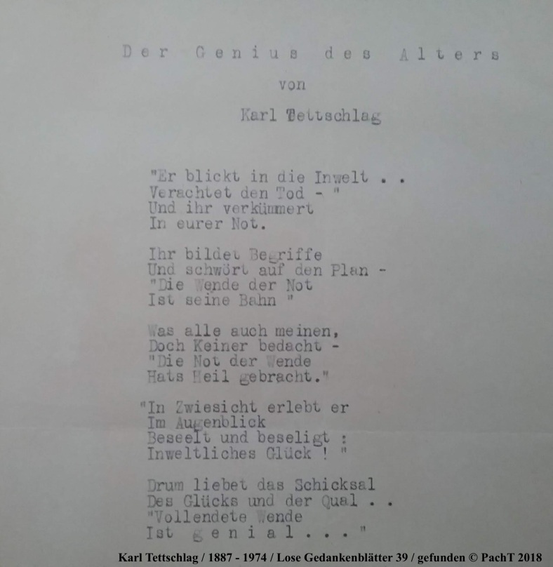 1887 - 1974 Erinnerungen an meinen Opa _ Lose GedankenBlätter 39