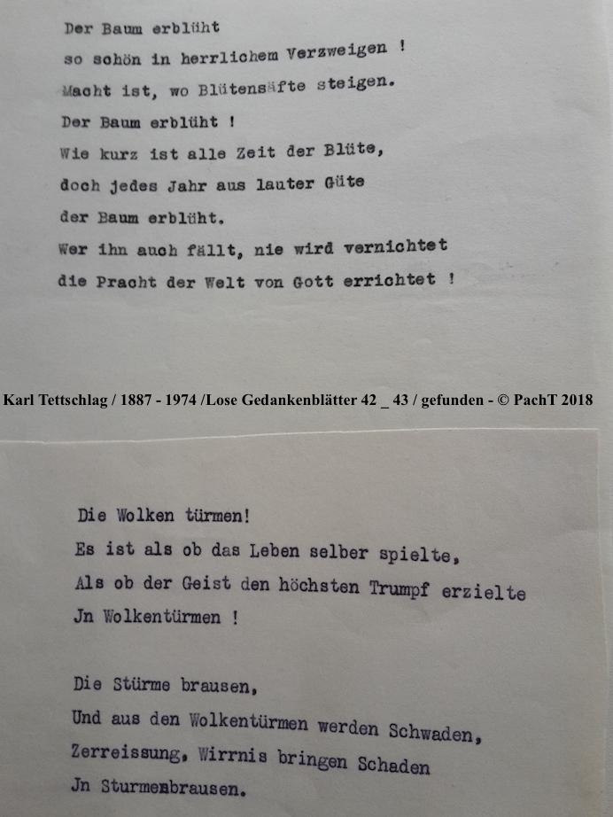 1887 - 1974 Erinnerungen an meinen Opa _ Lose GedankenBlätter 42_43