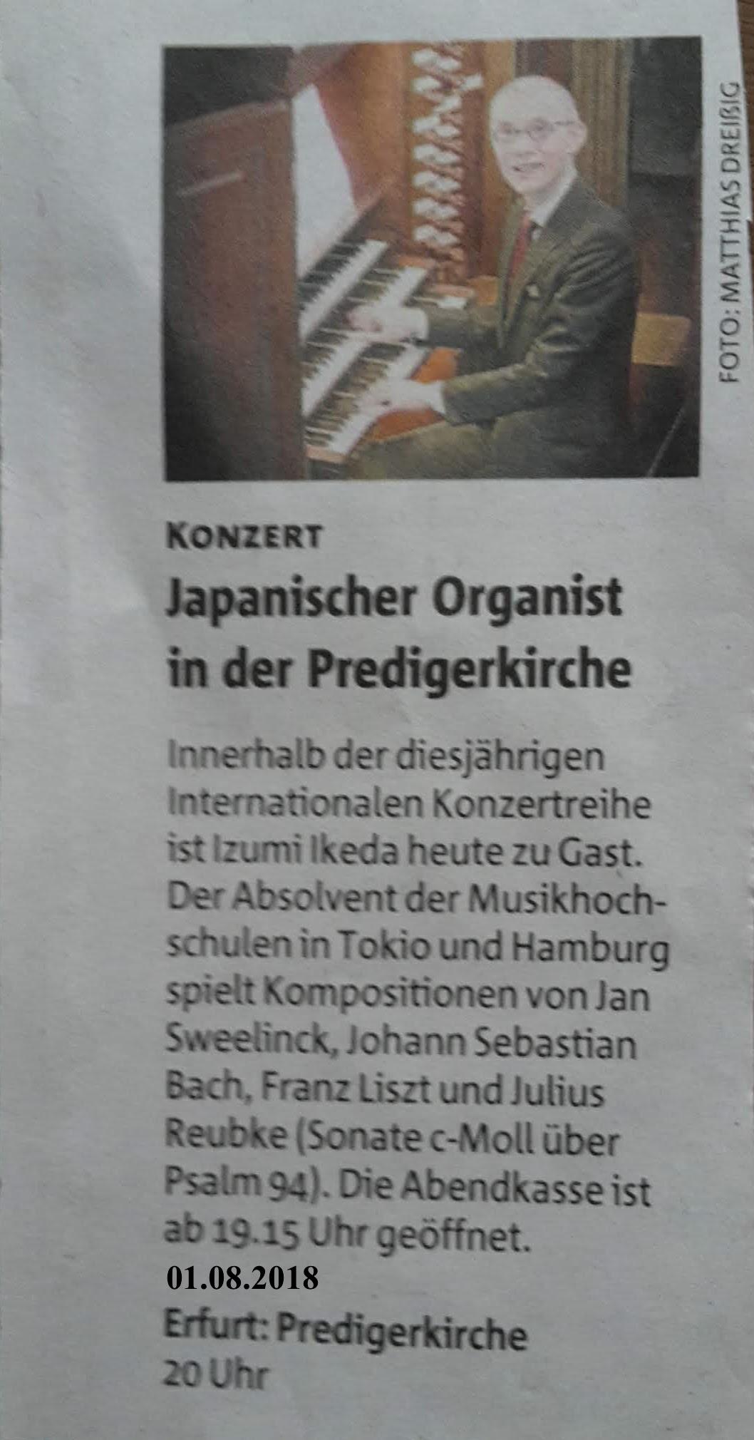 2018.08.01 OrgelKonzert PredigerKirche EF 1