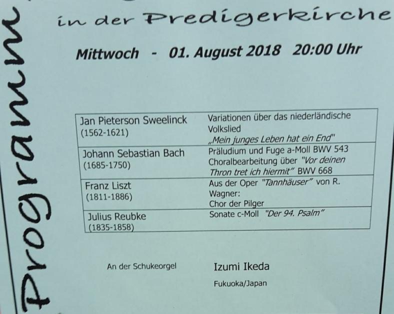 2018.08.01 OrgelKonzert PredigerKirche EF 3