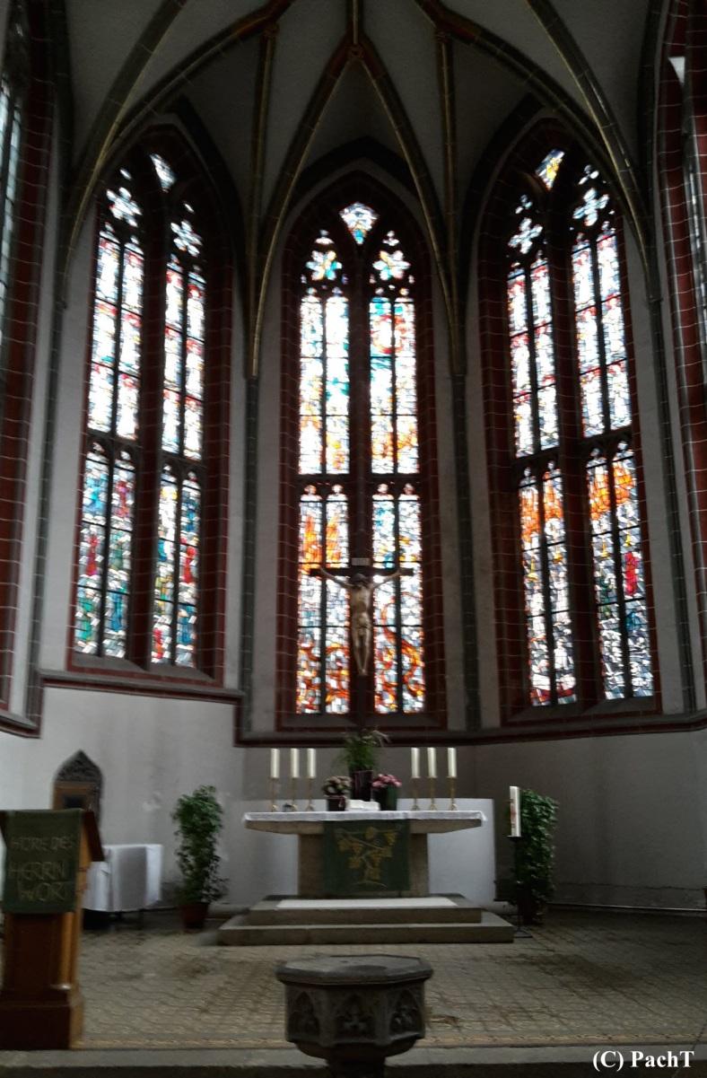 2018.08.15_17 Meinigen - Impressionen Altstadt Stadtkirche