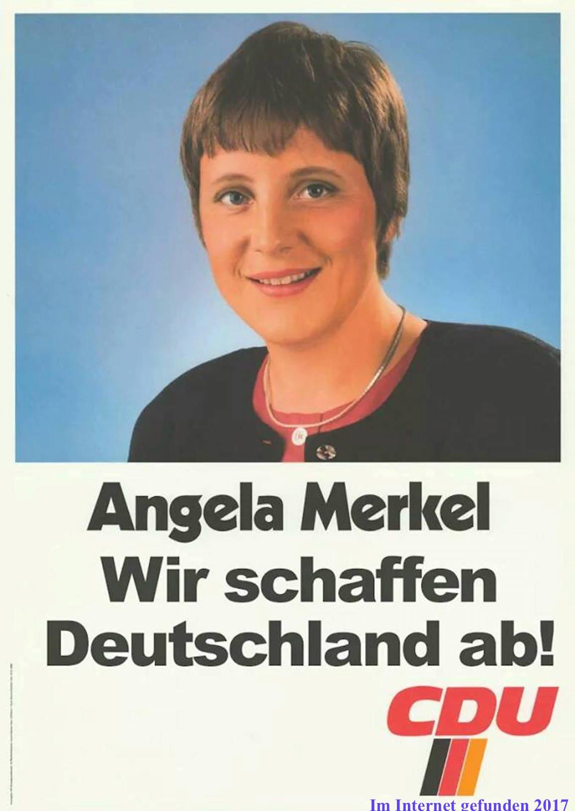 AMerkel WahlSlogan 2017