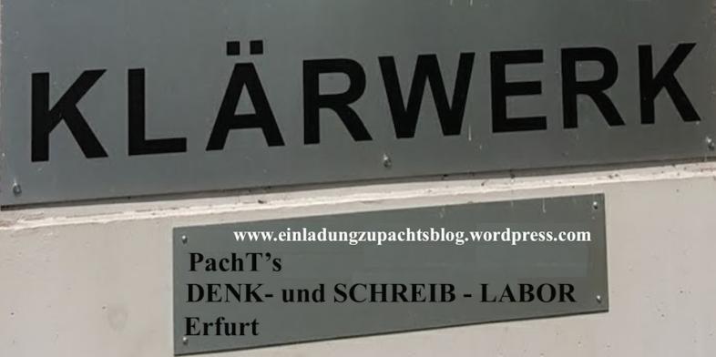Denk- u. SchreibLabor _ KLÄRWERK