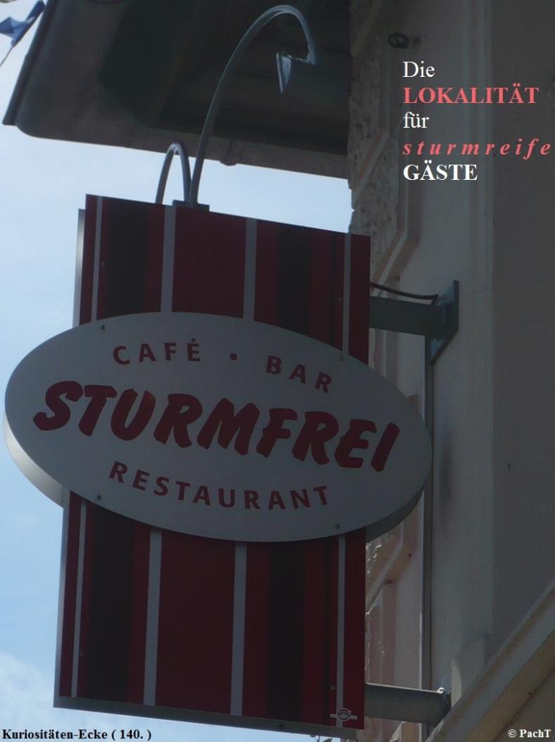 KURIOS 140 Sturmfrei
