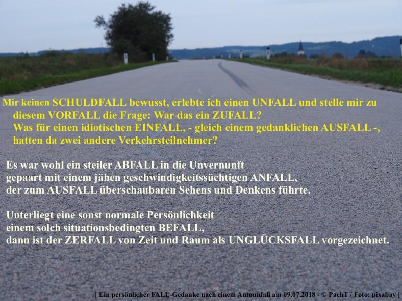Wortspiel_ FALL - Gedanke