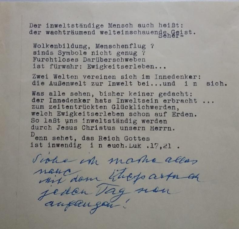 1887 - 1974 Erinnerungen an meinen Opa _ Lose GedankenBlätter 40 Korrektur