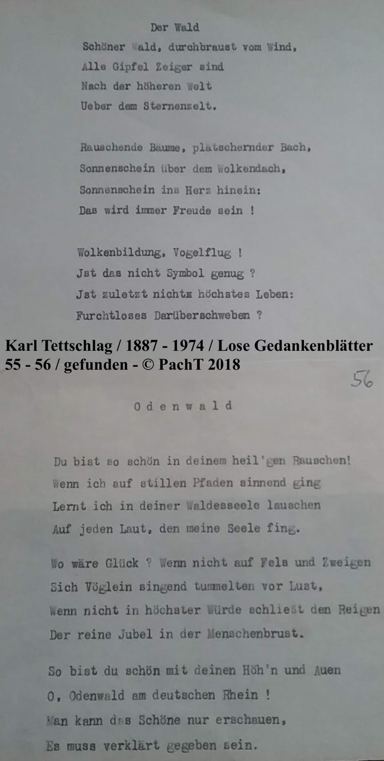 1887 - 1974 Erinnerungen an meinen Opa _ Lose GedankenBlätter 55 - 56