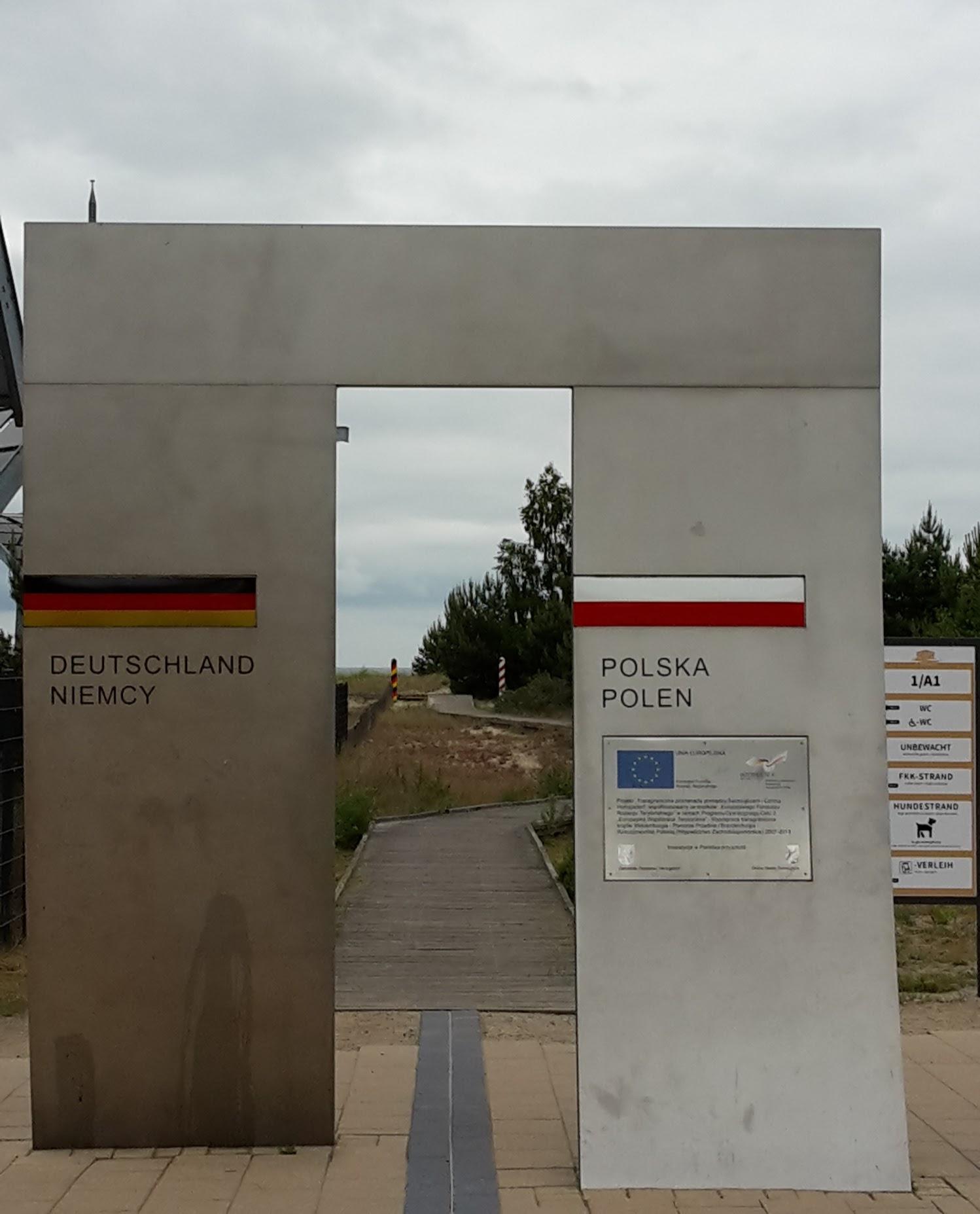 2018.06.09 - 23. URLAUB auf USEDOM 043 Dtsch.-poln. Grenze