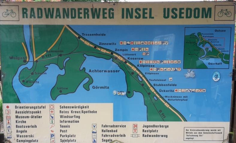 2018.06.09 - 23. URLAUB auf USEDOM 050 Orientierung in Kölpinsee