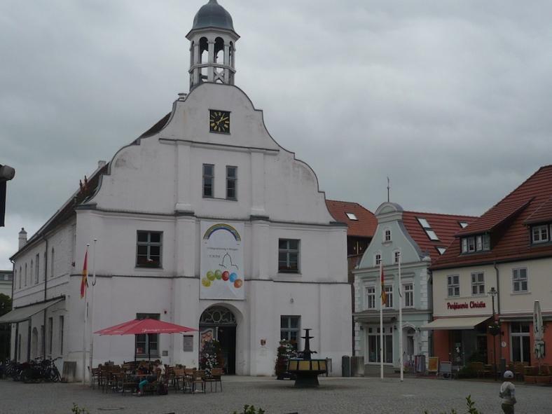 2018.06.09 - 23. URLAUB auf USEDOM 061 Wolgast Rathaus