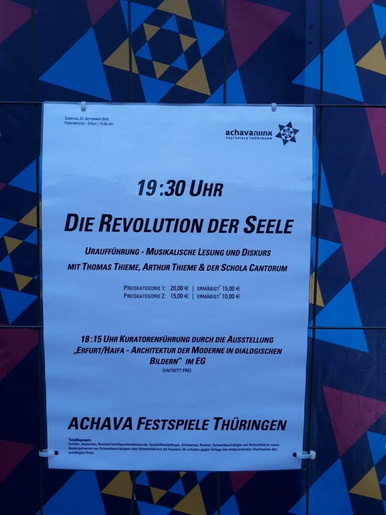 2018.09.22 ACHAVA 102 Revolution der Seele